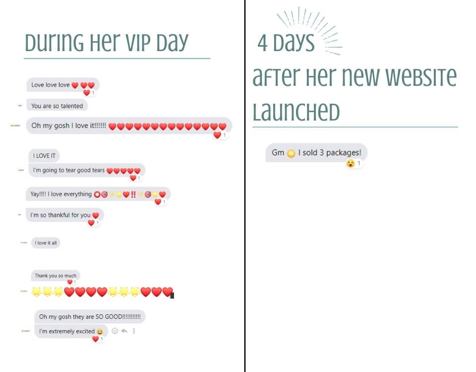 SoConnectedwithSarah.com positive reviews of VIP Design Day with Ashlynn Ellis